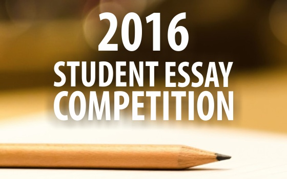 2016 Student Essay Competition