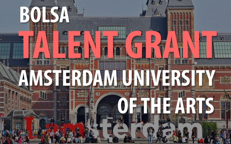 Talent Grant na Universidade de Artes de Amsterdam