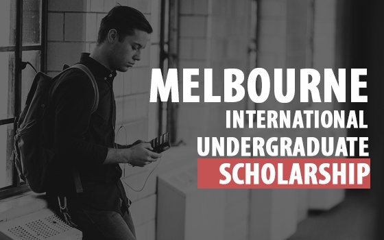 Melbourne International Undergraduate Scholarship
