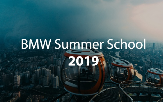 BMW Summer School 2019
