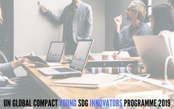 UN Global Compact Young SDG Innovators Programme 2019