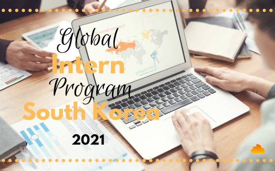 Global Intern Program South Korea 2021